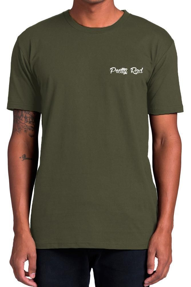Pretty Rad Store - Prs Staple Tee - Khaki