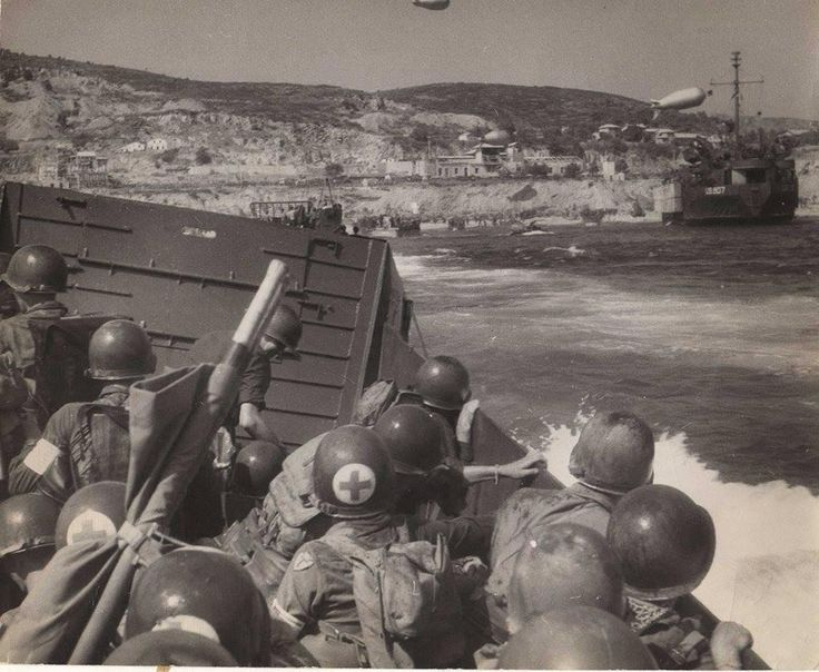 August 15, 1944 - 36th Infantry Division Landings at Saint Raphael - Operation Dragoon
