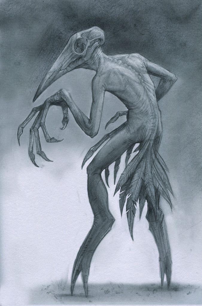 Birdman by StilleNacht.deviantart.com on @deviantART House of scary monsters