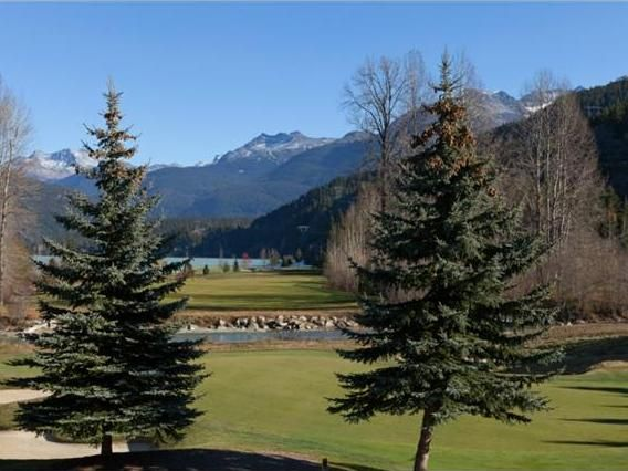 The Nicklaus North Golf Course in Whistler, BC
