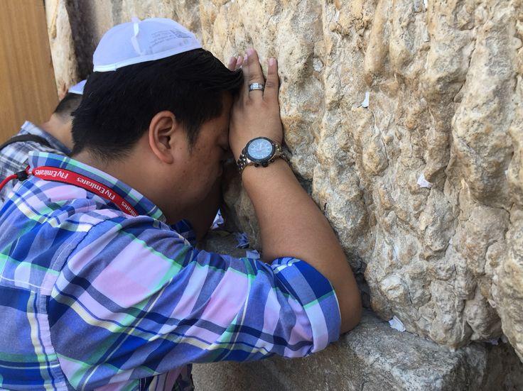 Wailling Wall Jerusalem 2015