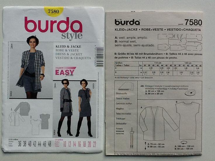 BURDA 7580 EASY