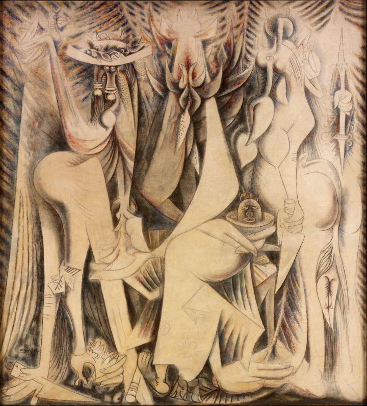 Wifredo Lam The Eternal Present (An Homage to Alejandro García Caturla) 1944 Museum of Art, Rhode Island School of Design (Providence, USA) © SDO Wifredo Lam