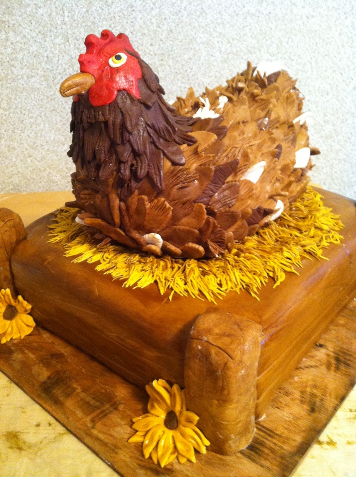39 Best Cakes Chicken Cake Images On Pinterest Chicken