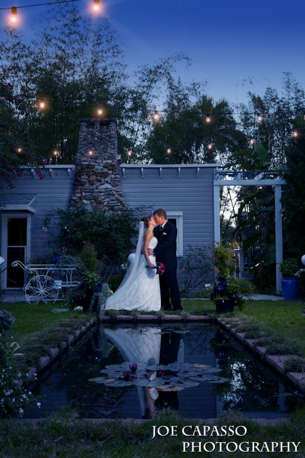 wedding venues on budget los angeles%0A Romantic Garden Wedding twilight weddnig moonlight garden fort myers wedding  venue Edison  u     Ford Winter Estates