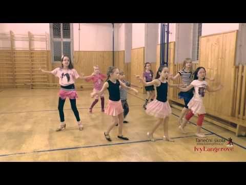 Taneční škola Ivy Langerové - Ukázka výuky latinskoamerických a standardních tanců - YouTube