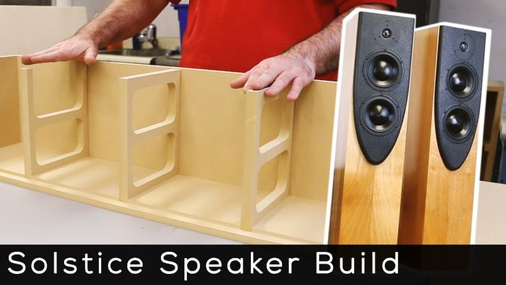 Solstice Speaker Kit Build - YouTube