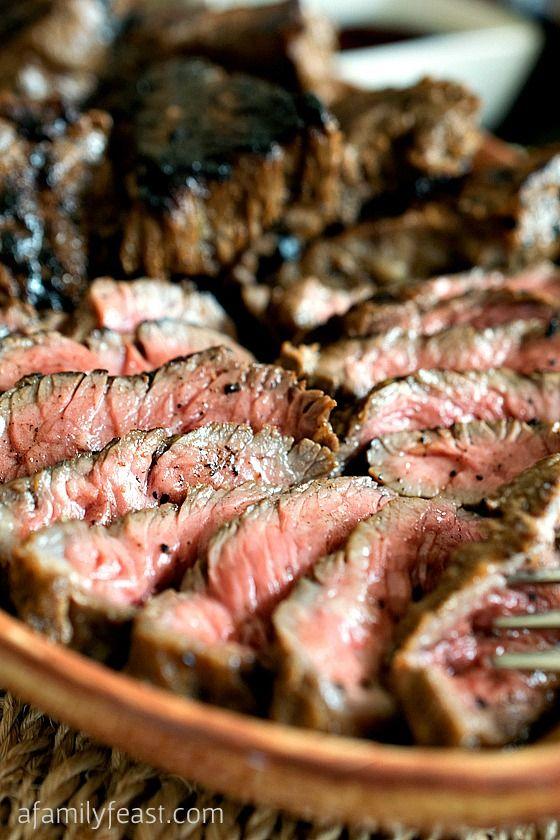 Salsa para marinar steak