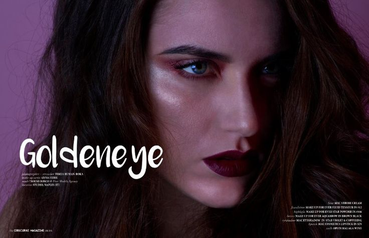 Goldeneye for Obscurae Magazine (USA) | Timea Ruman-Roka | LinkedIn