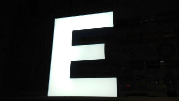 Litery 3D swietlne blokowe i że Styrodur. Reklama slupca konin września #reklamakonin #Reklamaslupca #reklamakonin www.b-6.pl