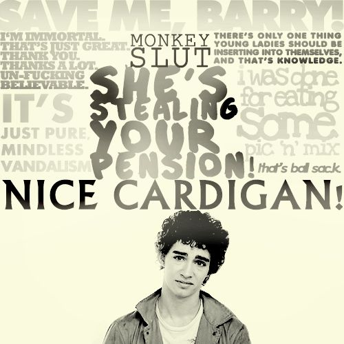Nathan Young, The Misfits. Best show ever! (that is... seasons 1-3). #misfits #nathan #quotes