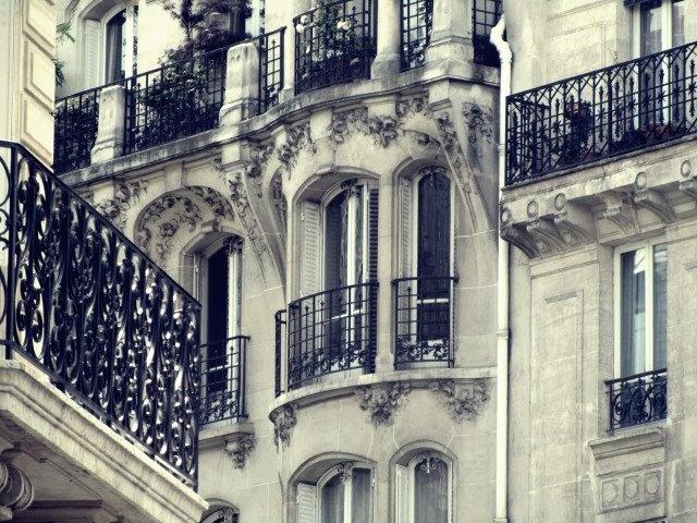 Appartment blocks in Paris, France