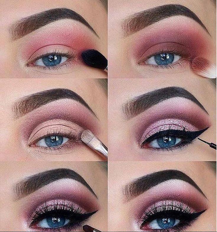 60 tutoriels de maquillage pour les yeux faciles pour les