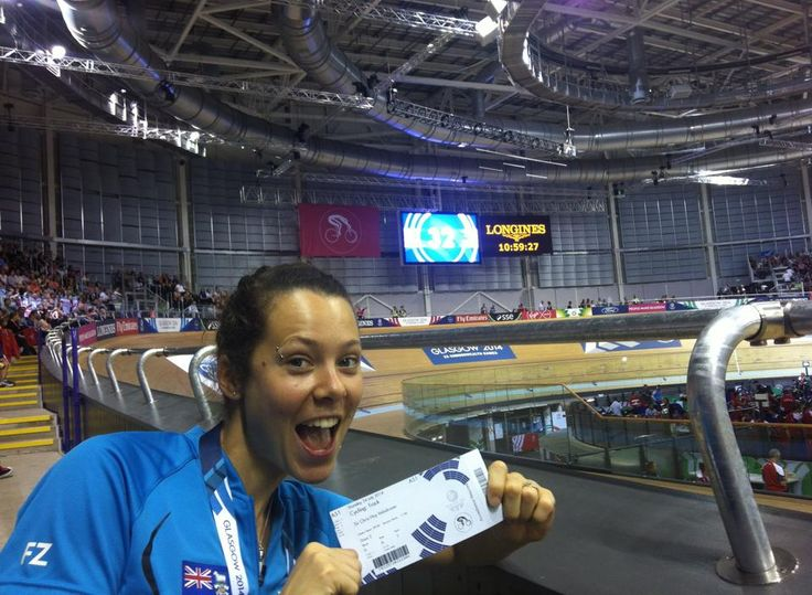 Natalie Hill from Active+ Kerikeri is team physio for the Falkland Islands at the 2014 #CommonwealthGames. She's doing a great job & having a ball!