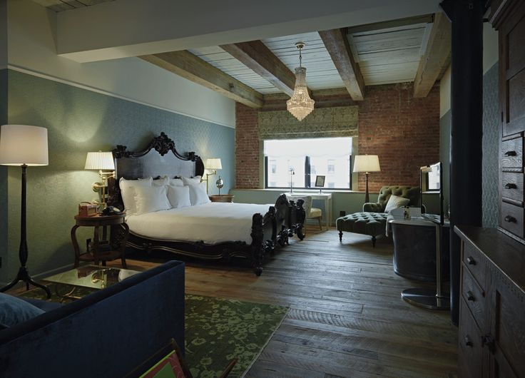 Soho house new york un exclusivo y lujoso hotel c for Furniture stores nyc soho