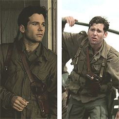 Eion Bailey as David Kenyon Webster in HBO'S Band of Brothers