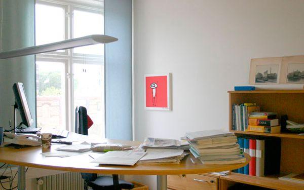 Kontor på Nordmills i Malmö. Tavla Cajsa Fredlund