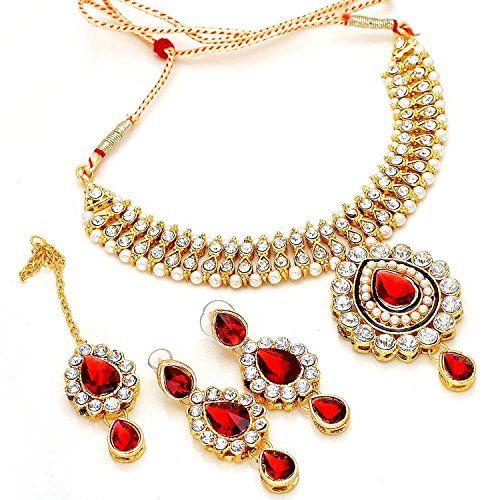 Red Stone Bollywood Inspired Gold Plated Ethnic Tradition... https://www.amazon.com/dp/B06XTZ279C/ref=cm_sw_r_pi_dp_x_1YqjzbYNKAAYN