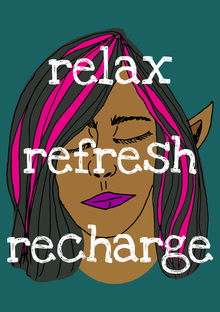 Relax, refresh, recharge #littlepenguinstore
