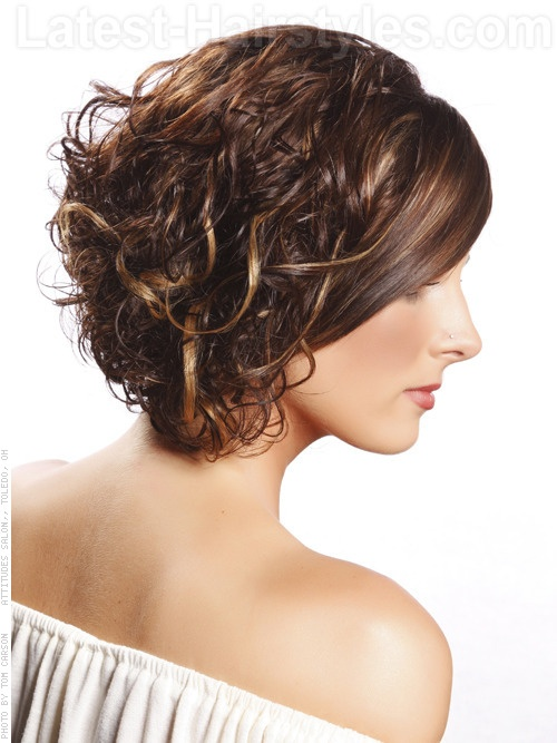 Curly Bob (someday but not now) | fashion | Pinterest