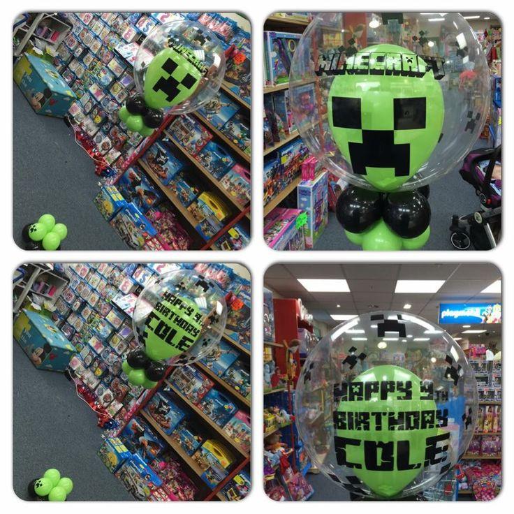 Minecraft personalized balloon#bni balloons Wolverhampton