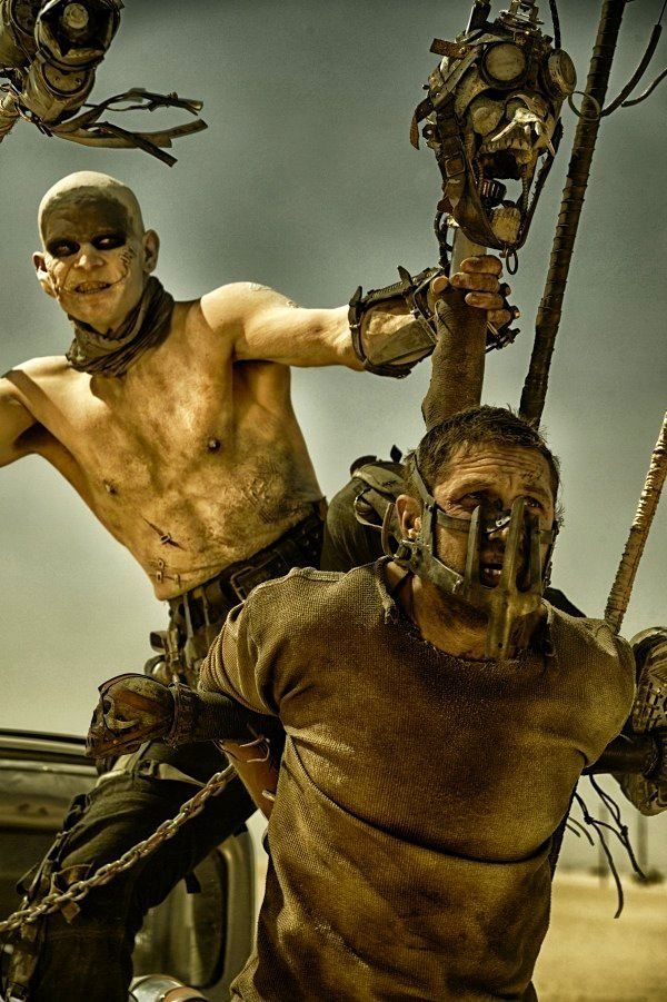 Mad Max: Fury Road - (2015) - Stars: Tom Hardy, Charlize Theron, Nicholas Hoult. In a post-apocalyptic world, in which people fight to the death, Max teams up with a mysterious woman, Furiousa, to try and survive.
