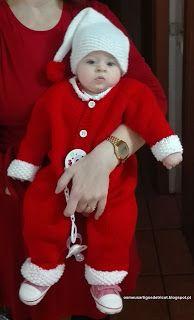 Os meus artigos de tricot (e desabafos de mãe): Bebé Natal