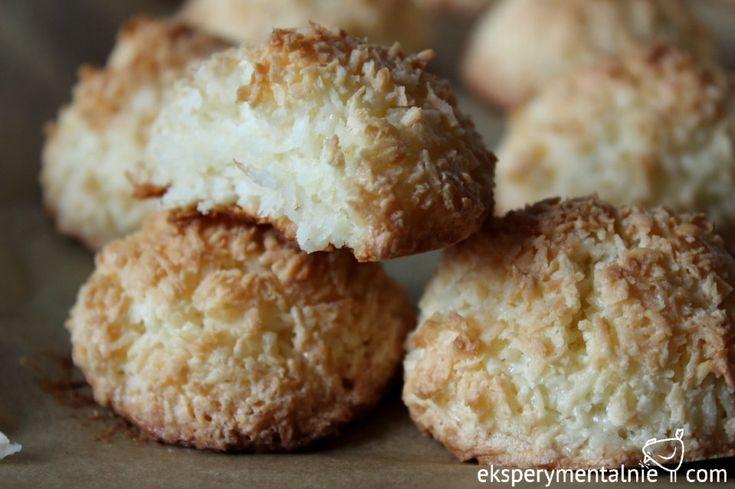 Przepis na kokosanki - bezglutenowe ciasteczka