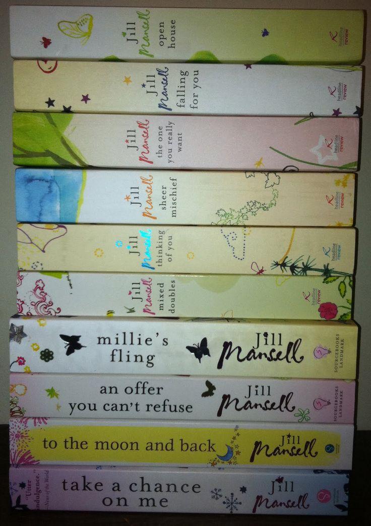 Jill Mansell books make my heart happy!