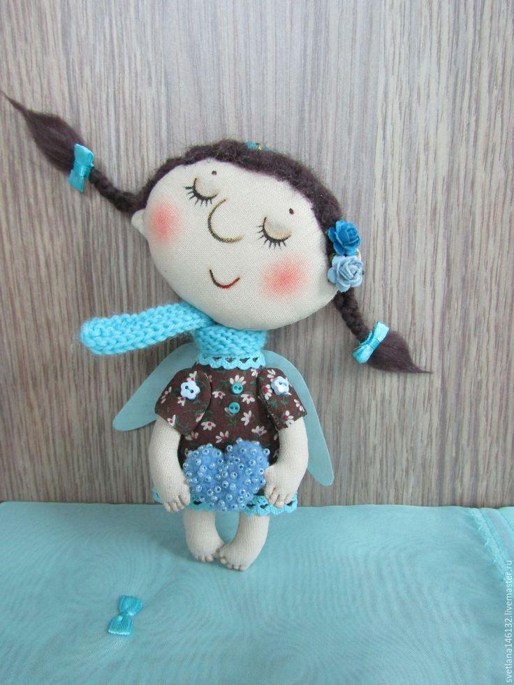 Handmade Angel with a heart - angel, wings, christmas, christmas gift, christmas present
