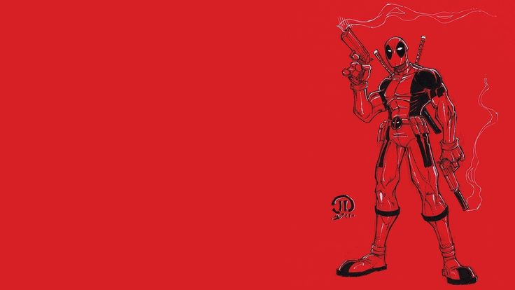 #1863375, deadpool category - Cool deadpool backround