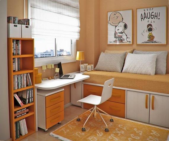 Small Bedroom Organization Ideas - for guest bedroom?
