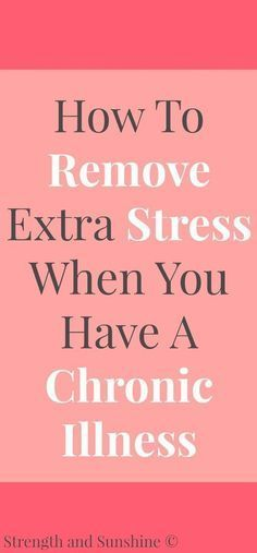 How To Remove Extra Stress When You Have A Chronic Illness | Strength and Sunshine @RebeccaGF666 Living with a chronic illness is stressful enough, but there are some steps we can take to manage extra stress. Here's some tips and ideas on how to remove extra stress when you have a chronic illness. #ad #PhilRx #PMedia #PsoriasisSelfManagement