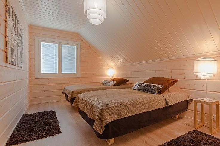 Bedroom in Villa Oskari