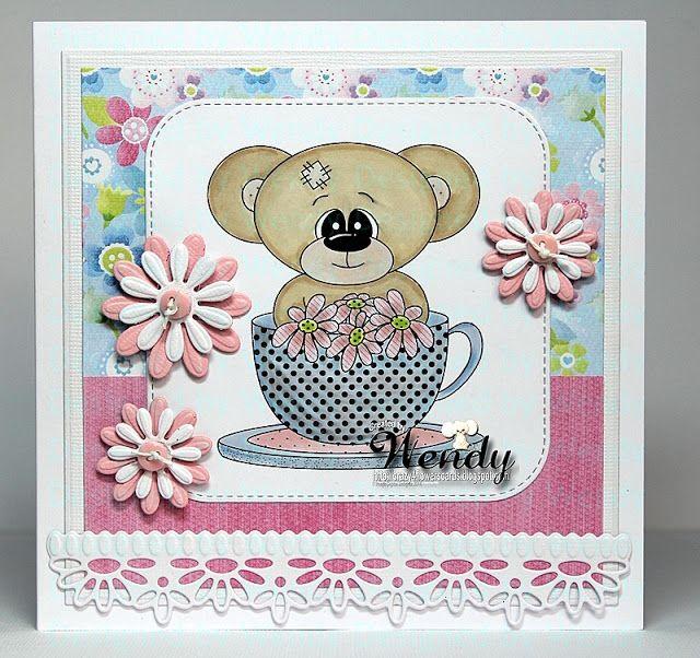 Digital Delights - Time for Tea Booboo