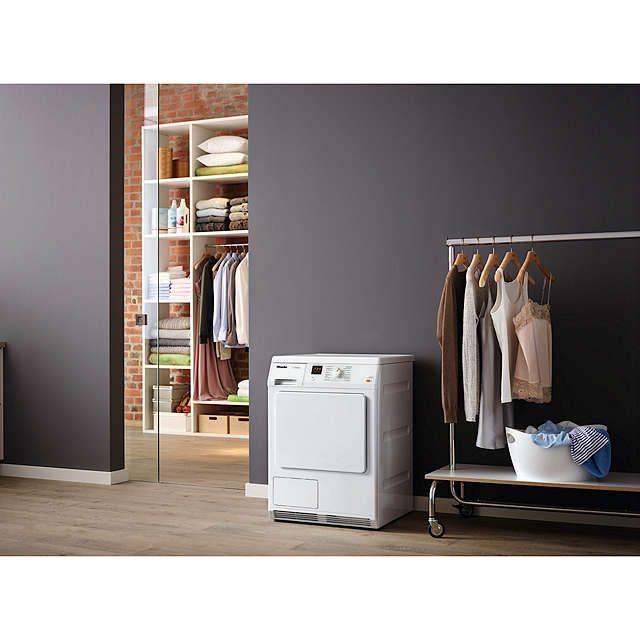 BuyMiele TDA150C Condenser Freestanding Tumble Dryer, 7kg Load, B Energy Rating, White Online at johnlewis.com