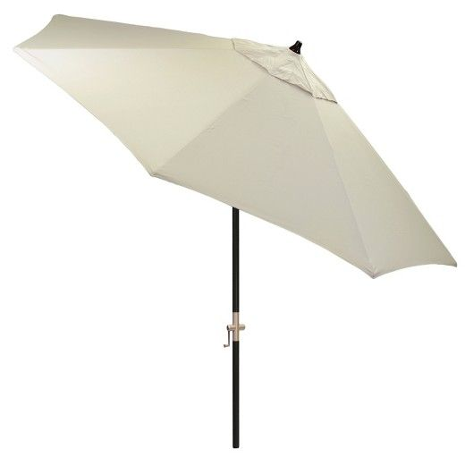 Sunbrella 9u0027 Round Patio Umbrella   Black Pole   Smith U0026 Hawken™ : Target