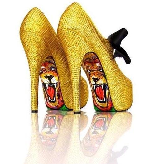 These wild heels were designed by Quicksliver designer, Taylor Reeve