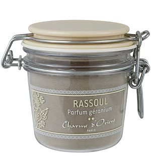 Charme d'Orient - Ghassoul Perfumed with Geranium - 200 g