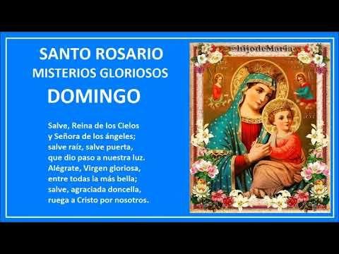 El Rincon de mi Espiritu: SANTO ROSARIO - DOMINGO- MISTERIOS GLORIOSOS.
