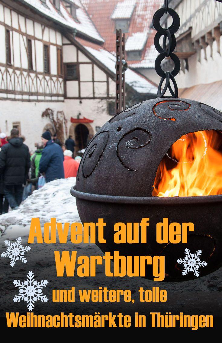 Advent auf der Wartburg und weitere Tipps für traumhafte Adventmärkte in Thüringen. Selbst ausprobiert. Meine Erfahrungen im Reiseblog. #deinthüringen