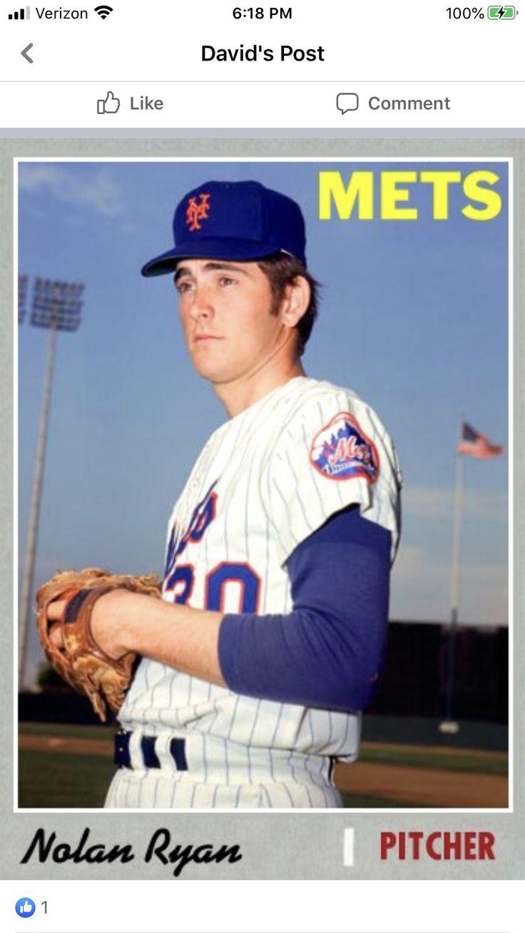 Pin by John Gaeta on METS in 2020 Mets, Nolan ryan, New
