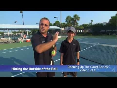 Tennis Technique -- Opening up the Court Series by IMG Academy Bollettieri tennis program (1 of 4)
