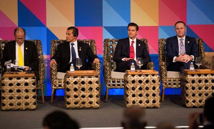 Propone el Presidente Enrique Peña Nieto, institucionalizar el diálogo entre APEC y la Alianza del Pacífico