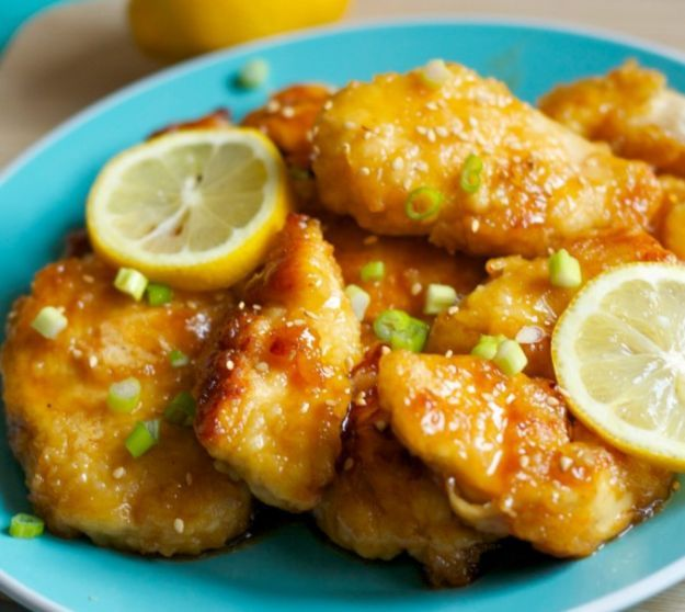 Asian Lemon Chicken | 12 Easy Asian Recipes To Try At Least Once, check it out at http://homemaderecipes.com/easy-asian-recipes/