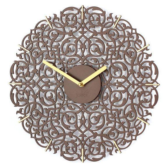 珍しい時計大きな壁の時計干拓ウッド時計ユニークな時計パーソナライズされた結婚式のギフトクリスマスギフト壁の装飾インテリア時計 by clockshopping