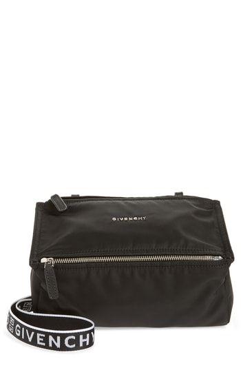 21857af30d14 Givenchy Mini Pandora Nylon Shoulder Bag