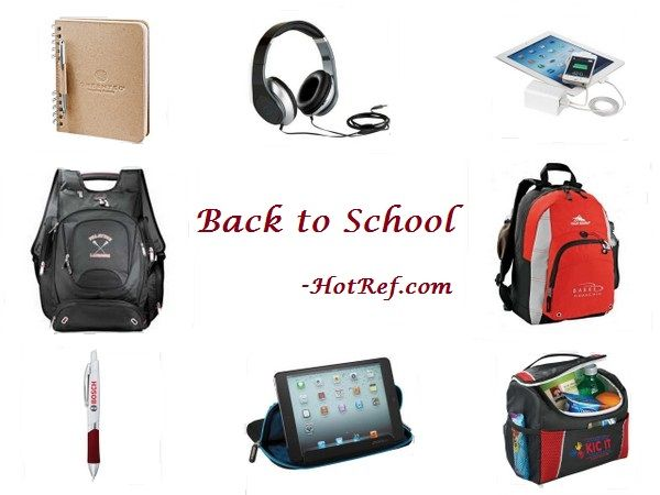 Back To School Promotional Products from HotRef.com