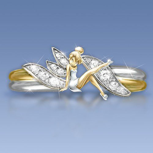 1000+ images about Tinkerbell Rings on Pinterest ...