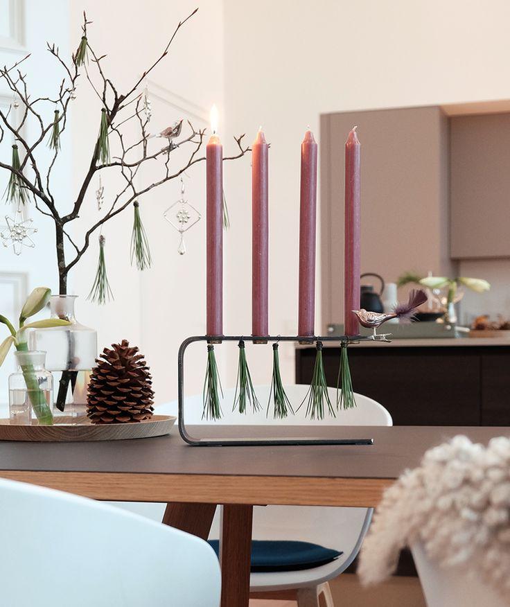 108 besten tischdeko weihnachten bilder auf pinterest for Tischdeko advent